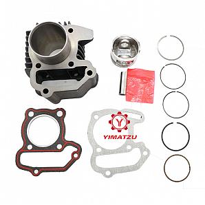 Yamaha ATV UTV Parts 47-51mm Cylinder Kit for BADGER RAPTOR GRIZZLY YFM80 1985-2008