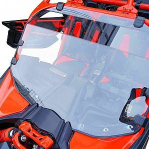 UTV Full Windshield Scratch Resistant PMMA for Can-Am Maverick X3 900 Max Turbo X 2017-2019 2018