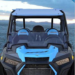 UTV Half Windshield Scratch Resistant PMMA for Polaris RZR XP 4XP 1000 2019+
