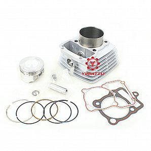 New Model 65.5MM 250CC Big Bore Cylinder Kit 12pcs Set for CG200 Engine