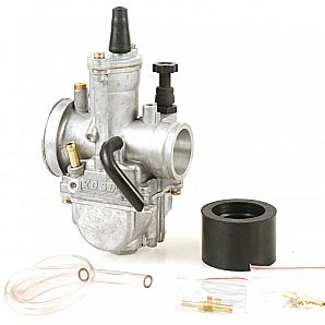 Performance Koso Carburetor 28MM 30 MM 32MM 34MM for 100-125CC 2-4 Stroke Scooter, Dirt Bike,Go Kart
