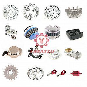 Yimatzu Cross Bike Mini Dirt Bike ATVs Parts Engine,Carburetor,Clutch,Cylinder,Set