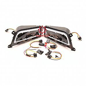 YIMATZU ATVs UTVs LED Headlights for Polaris Ranger RZR 900 1000 2015-2019