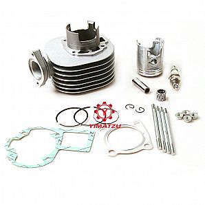 YIMATZU ATV Parts Engine Cylinder Kit for SUZUKI Quadsports LT80 80CC 1987-2006