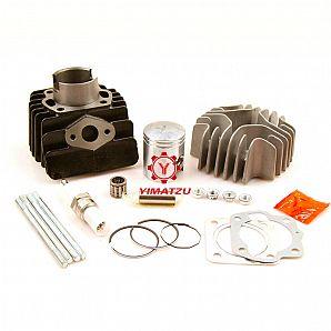 YIMATZU Cylinder Head Piston Ring Gasket Kit for Suzuki LT50 LTA50 ALT50 1985-2006