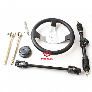 Yimatzu ATV Utv Parts Steering System Performance for 110-150CC Go Kart Buggy