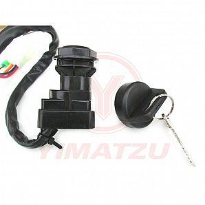 Yimatzu ATV UTV Parts Key Switch Assy for SUNZUKI LT80 Quadsports 1994-2000