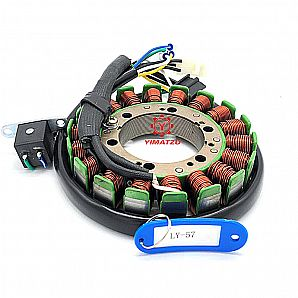 Yimatzu ATV UTV Parts Stator Coil Fit For Suzuki LTF400F 4X2 4X4 Eiger 2002-2007