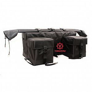 YIMATZU Hight Quality 1680D Nylon ATV Cargo bag ATV Rear Storage Rack Bag ATV Tools Bags