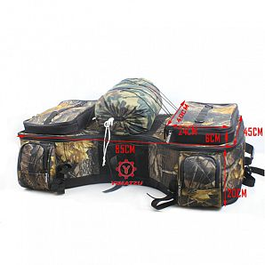 YIMATZU ATV Cargo bag ATV Rear Storage Rack Bag ATV Tools Bags for 300-800CC ATVs
