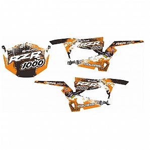 YIMATZU ATV UTV Parts Decal for Polaris XP RZR1000 2014-2018