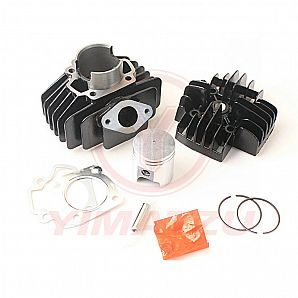 2-Stroke Cylinder Rebuild Kit 50CC to 60CC 44MM Big Bore for PW50 PY50 QT50 PV50 Engine