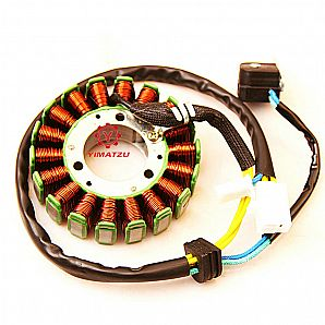 Yimatzu ATV UTV Parts Stator - Magneto Coil,for XINGYUE XY 250cc, 260cc, 300cc, 5 Wire