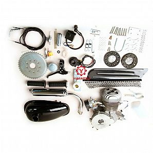 Yimatzu Parts New Model 2-Stroke 80CC Engine for Bicycle,Chopper Bike With C