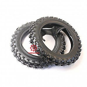 Yimatzu Motorcycle 2.50-10 Off-Road Bike Tire for YAMAHA PW50 PY50 PV50 With Tube