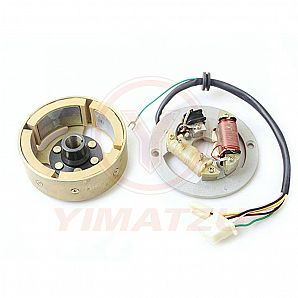 Yimatzu Motorcycle Parts GENERATOR for Yamaha PW80 1995-2003