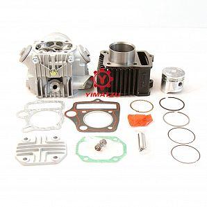 Yimatzu ATV Motorcycle Parts Cyinder & Cylinder Head Kit for Honda ATC70 CT70 CRF70 C70 TRX70