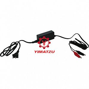Yimatzu Electric Scooter Charger 14.7V, 1.5A, Alligator Clips, Trickle Charger