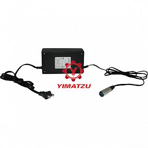 Yimatzu Electric Scooter Charger - 24V, 5A, 3-Pin XLR Plug (Male DIN)