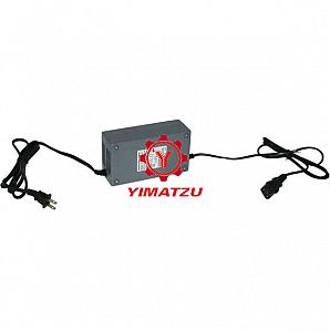 Yimatzu Electric Scooter Bicycle ATV Charger - 48V, 3A, C13 Plug, Reverse Polarity