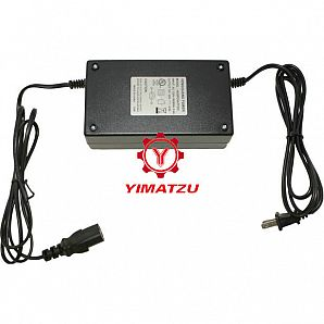 Yimatzu Electric Scooter ATV Bicycle Charger - 60V, 2A, C13 Plug
