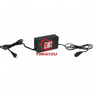 Yimatzu Electric Scooter ATVs Bicycle Charger - 48V, 3.5A, C13 Plug