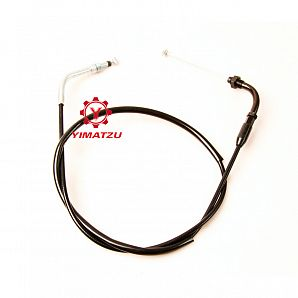 Yimatzu ATV Parts THROTTLE CABLE for BUYANG FA-D300 H300 K550 N550 ATVs EEC EPA