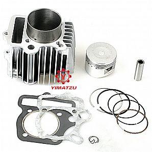 Yimatzu Motorcycle Engine Big Bore Kit 54MM Cylinder for Honda ATC CRF100 110