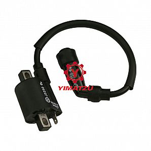 Yimatzu ATV Parts Ignition Coil for JIANSHE JS250 250CC ATVs Baja, Opposing Prongs