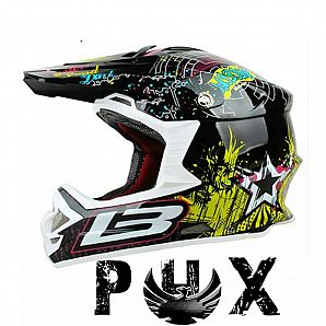 PHX Helmets/Dirt bike Helmets-SW-8195 for Off-Road Cross Bike