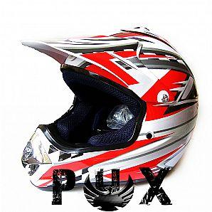 PHX Helmet for Off-Road Bike ATVs Dirt BIke Cross Bike SW-8191